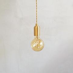 Mono Brass Gold Pendant Light