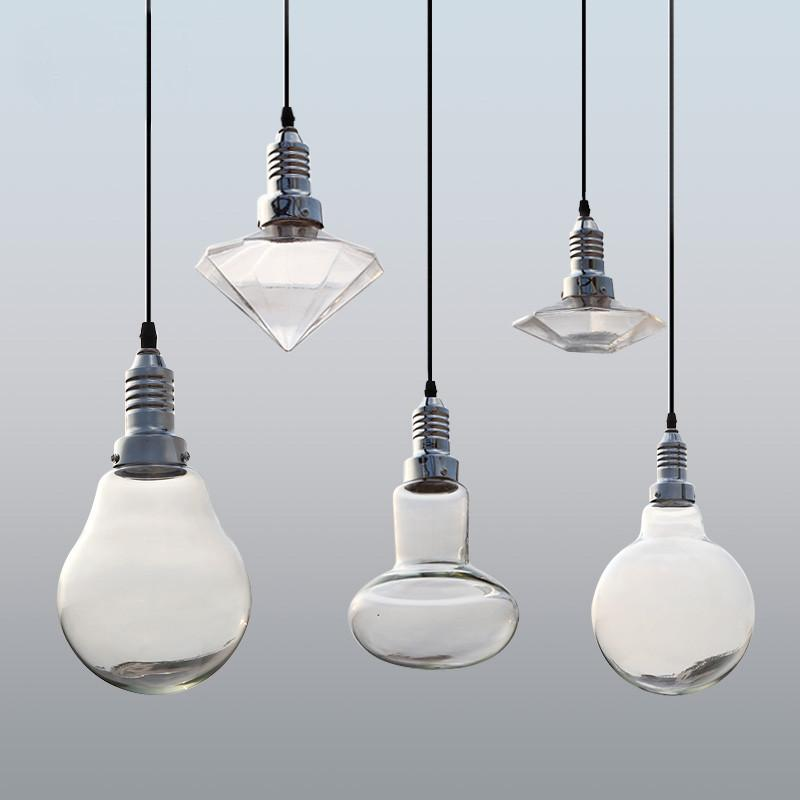 Cancri Glass Bulb Cluster Pendant Light