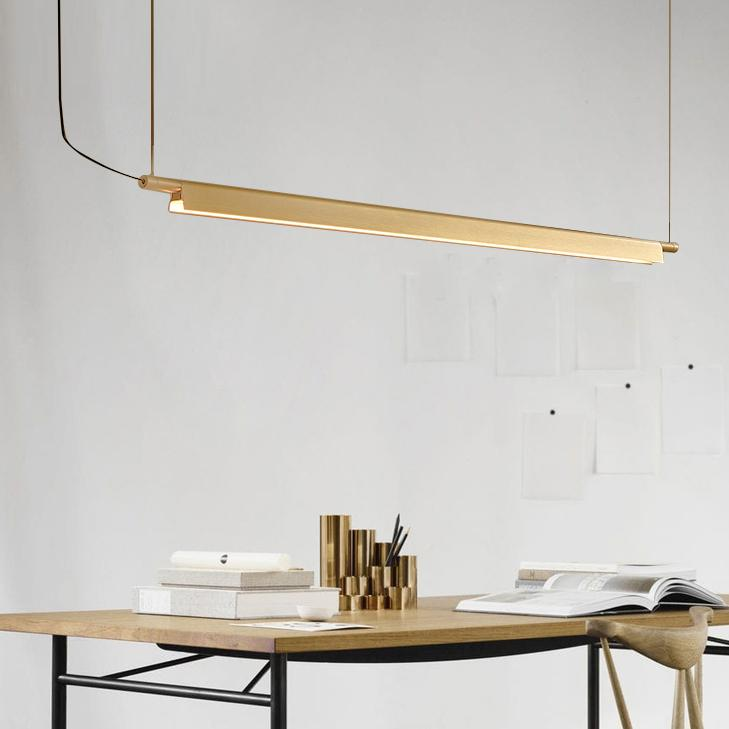 Ando Minimalist LED Pendant Island Light