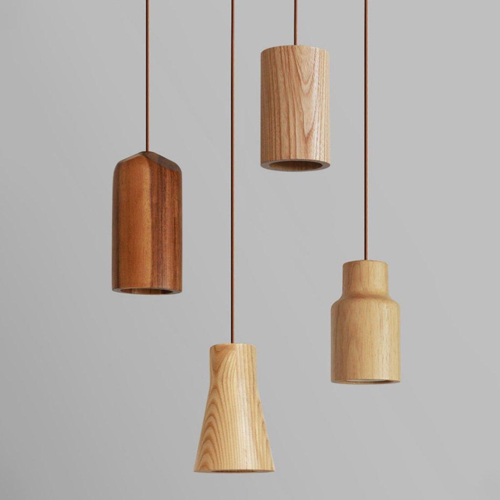 Pinocchio Wooden Pendant Light