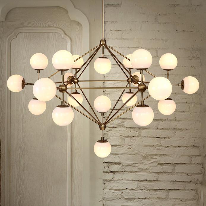 Ritz 21 head cluster chandelier