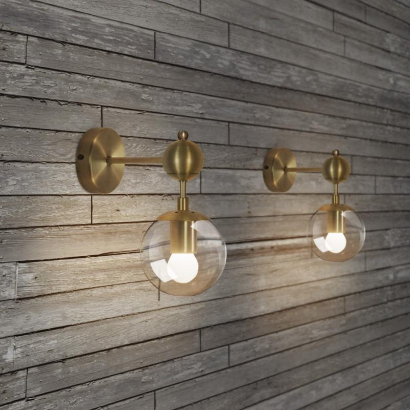 Ritz single wall light sconce