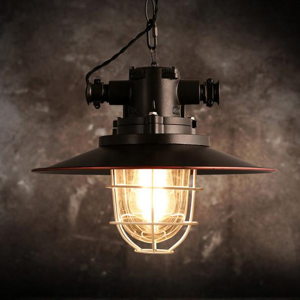 Otto Industrial Retro Pendant Light