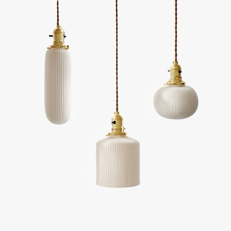 Sjöborre art deco pendant light