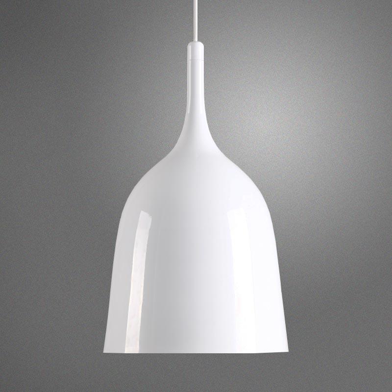 Copacabana White Minimalist Pendant Light