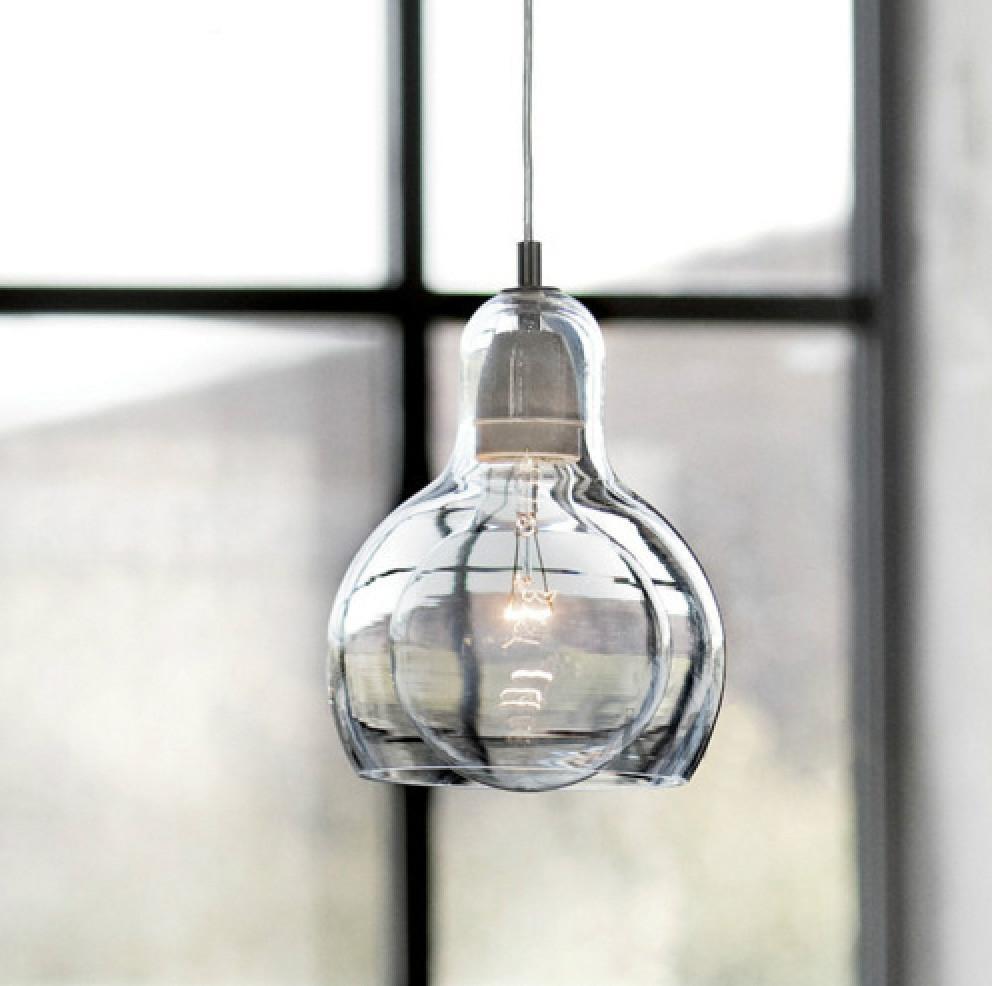 Mega Bulb Glass Pendant Light